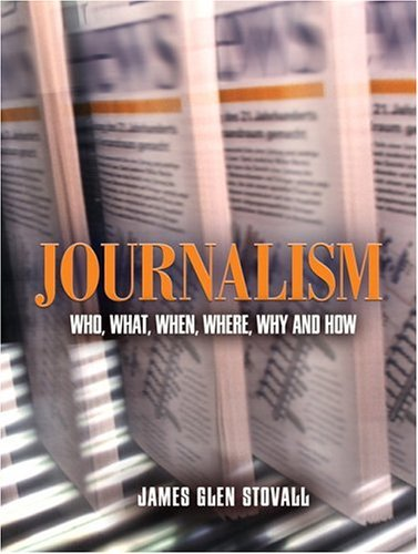 Journalism Who, What, When, Where, Why, and How  2005 edition cover