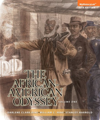 African-American Odyssey  6th 2014 edition cover