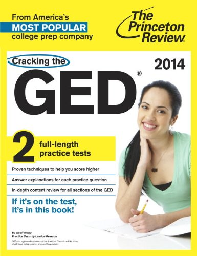 Cracking the GED 2015   2014 (Revised) edition cover