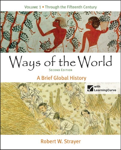 Ways of the World A Brief Global History 2nd edition cover