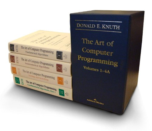 Art of Computer Programming  3rd 2011 edition cover