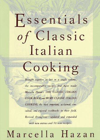 Essentials of Classic Italian Cooking   1992 9780394584041 Front Cover