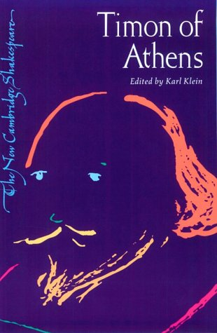 Timon of Athens   2001 9780521294041 Front Cover