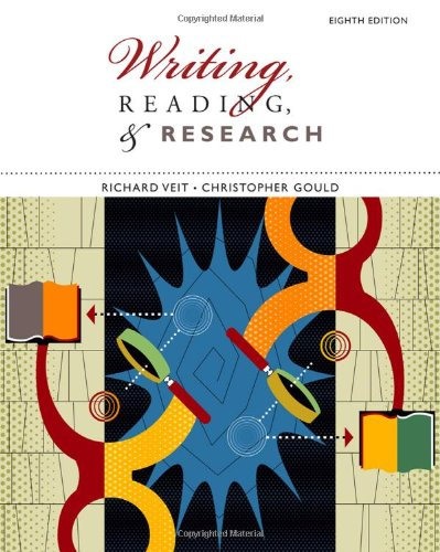 Writing, Reading, and Research  8th 2010 9780547191041 Front Cover