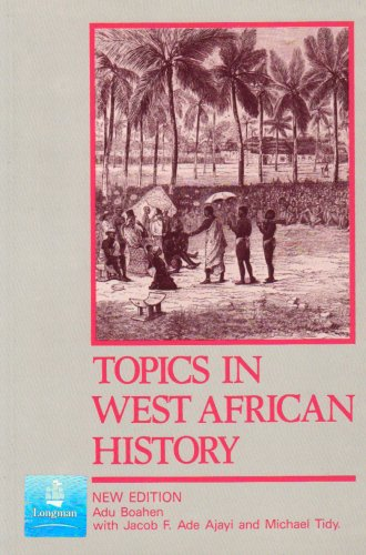 Topics in West African History  2nd 1986 edition cover