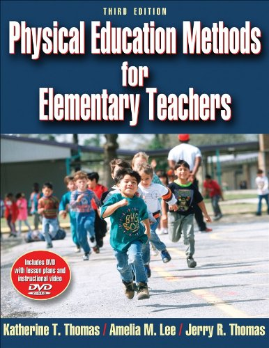Physical Education Methods for Elementary Teachers  3rd 2008 edition cover