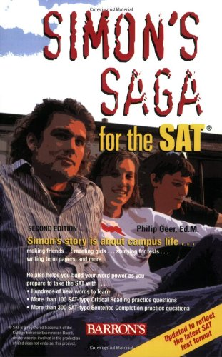 Simon's Saga for the SAT  2nd 2008 (Revised) edition cover