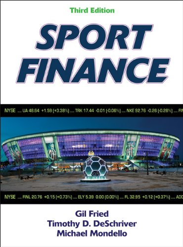 Sport Finance-3rd Edition  3rd 2013 edition cover