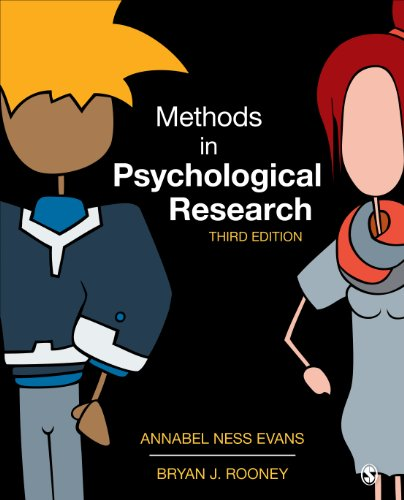 Methods in Psychological Research  3rd 2014 edition cover
