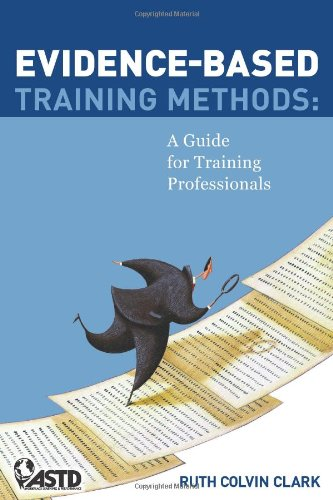 Evidence-Based Training Methods   2010 9781562867041 Front Cover
