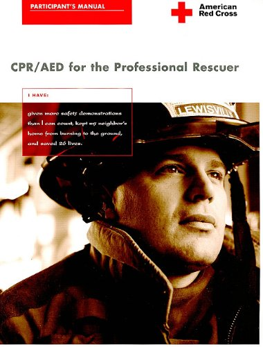 CPR/AED for the Professional Rescuer 3rd 2006 edition cover