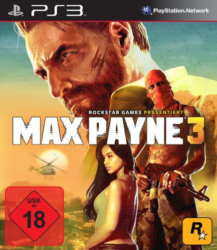 MAX PAYNE 3 PlayStation 3 artwork
