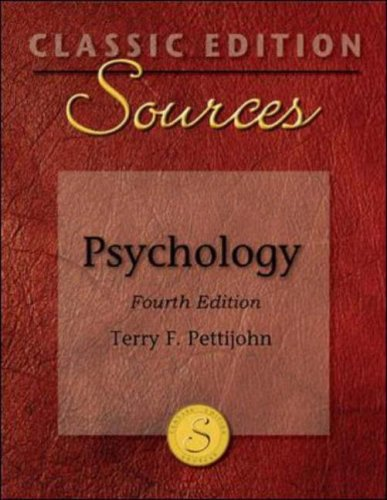 Psychology  4th 2007 (Revised) edition cover