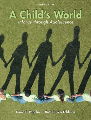 Child's World Infancy Through Adolescence 12th 2011 edition cover