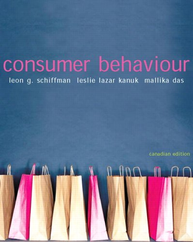 CONSUMER BEHAVIOUR >CANADIAN< 1st edition cover
