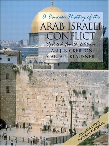 Concise History of the Arab-Israeli Conflict  4th 2005 (Revised) edition cover