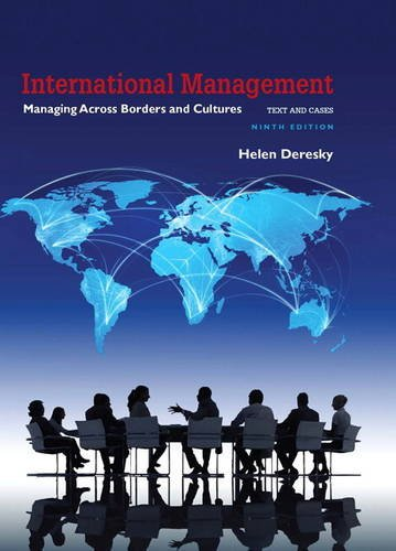 International Management Managing Across Borders and Cultures, Text and Cases 9th 2017 9780134376042 Front Cover