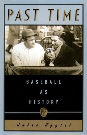 Past Time Baseball As History  2000 edition cover