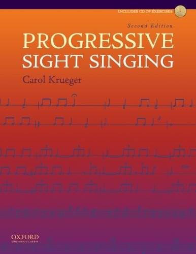 Progressive Sight Singing  2nd 2010 edition cover