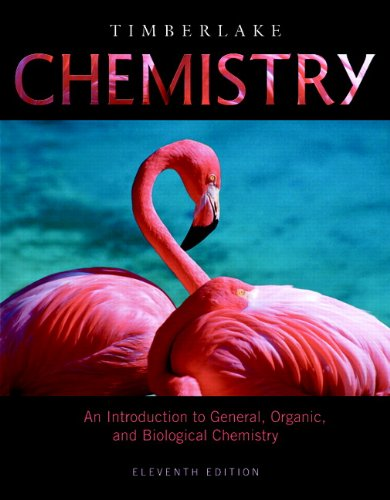 Chemistry An Introduction to General, Organic, and Biological Chemistry 11th 2012 (Revised) edition cover