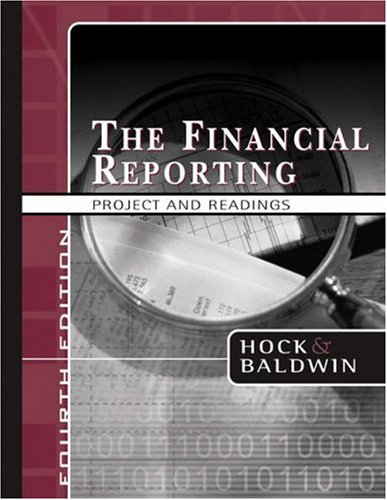 Financial Reporting Project and Readings  4th 2005 (Revised) edition cover