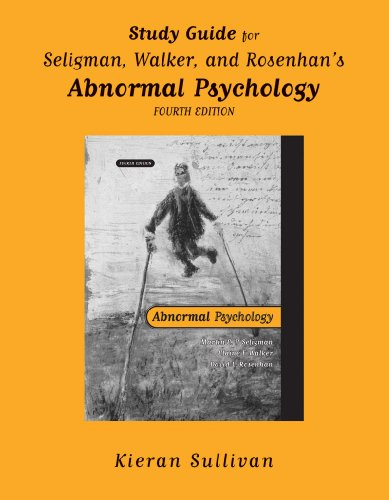Abnormal Psychology  4th 2001 (Student Manual, Study Guide, etc.) edition cover