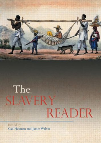 Slavery Reader   2003 9780415213042 Front Cover