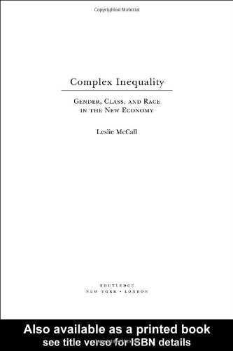 Complex Inequality Gender, Class and Race in the New Economy  2001 edition cover
