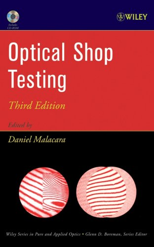 Optical Shop Testing  3rd 2006 (Revised) 9780471484042 Front Cover