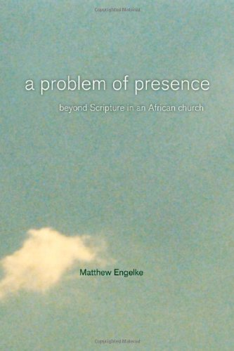 Problem of Presence Beyond Scripture in an African Church  2007 edition cover