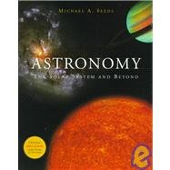 Astronomy The Solar System and Beyond 1st 1999 9780534563042 Front Cover