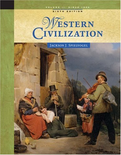 Western Civilization Since 1500 6th 2006 9780534646042 Front Cover