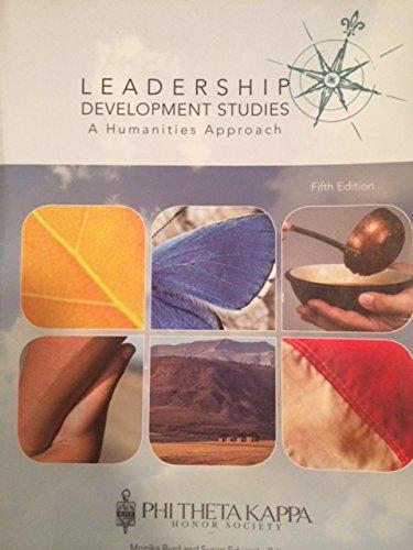 LEADERSHIP DEVELOPMENT STUDIES >CUSTOM< N/A 9780738066042 Front Cover
