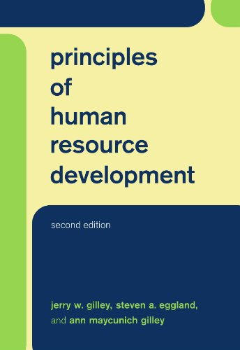 Principles of Human Resource Development  2nd 2002 9780738206042 Front Cover