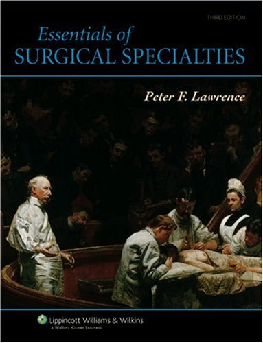 Essentials of Surgical Specialties  3rd 2007 (Revised) edition cover