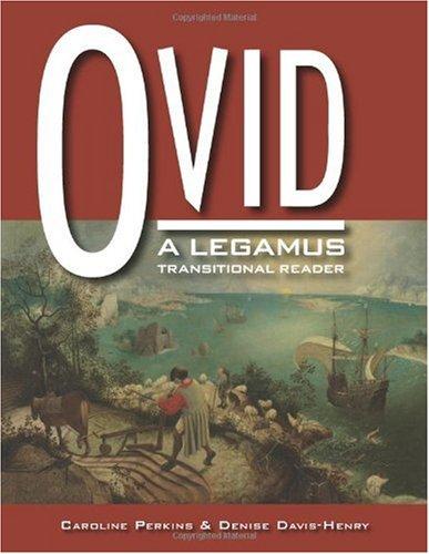 Ovid Legamus   2008 edition cover