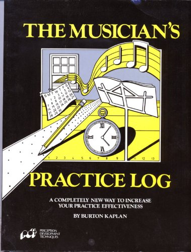 Musician's Practice Log N/A edition cover