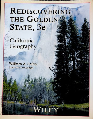 REDISCOVERING GOLDEN STATE-W/C N/A edition cover
