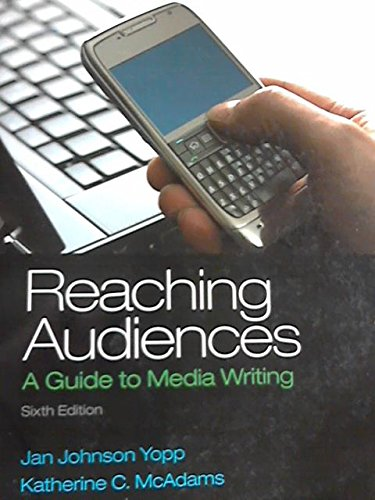 REACHING AUDIENCES >CUSTOM<    N/A 9781269101042 Front Cover