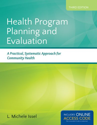 Health Program Planning and Evaluation  3rd 2014 edition cover