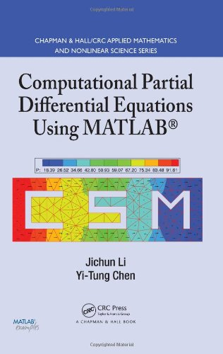 Computational Partial Differential Equations Using MATLAB   2008 edition cover