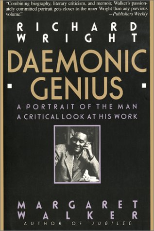 Richard Wright Daemonic Genius Reprint  9781567430042 Front Cover