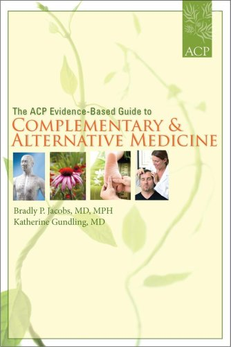 ACP Evidence-Based Guide to Complementary and Alternative Medicine   2009 edition cover
