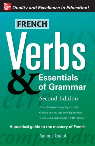 French Verbs and Essentials of Grammar  2nd 2008 edition cover