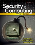 Security in Computing  5th 2015 edition cover