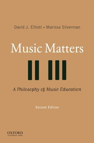 Music Matters A Philosophy of Music Education 2nd 2014 edition cover