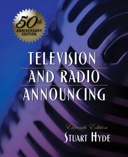 Television and Radio Announcing  11th 2009 edition cover