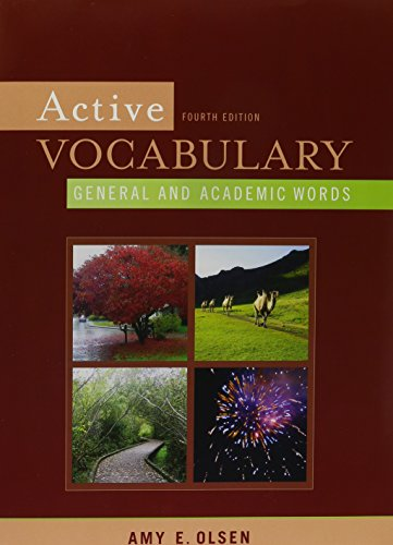 ACTIVE VOCABULARY-W/ACCESS N/A 9780205761043 Front Cover
