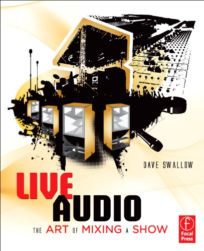 Live Audio The Art of Mixing a Show  2010 9780240816043 Front Cover