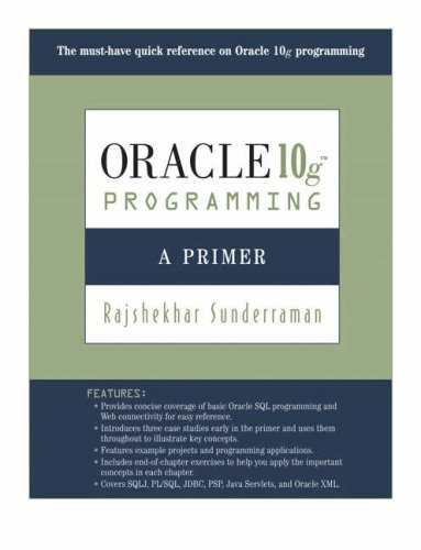 Oracle 10g Programming A Primer 2nd 2008 (Revised) edition cover
